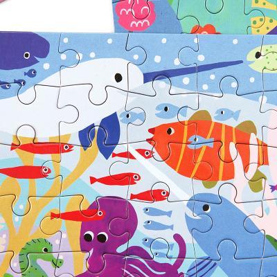 고래와 친구들 36피스 미니퍼즐