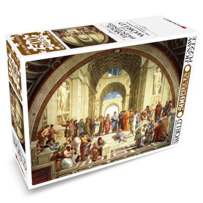 세계의 명화 직소퍼즐 500pcs 아테네 학당
