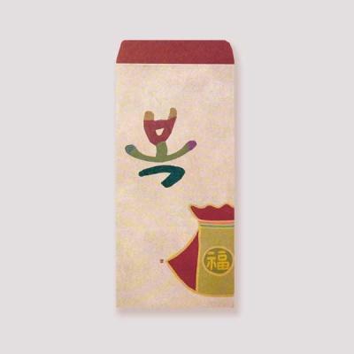 [봉투]복 일러스트 봉투 3매입 EP501