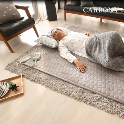 카보니 숯발열선 자가발열 더 웜 탄소온열매트