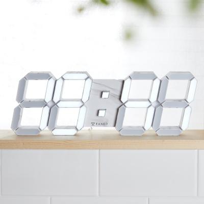 탠디 레인보우 대리석 3D LED 벽시계 JS-i30