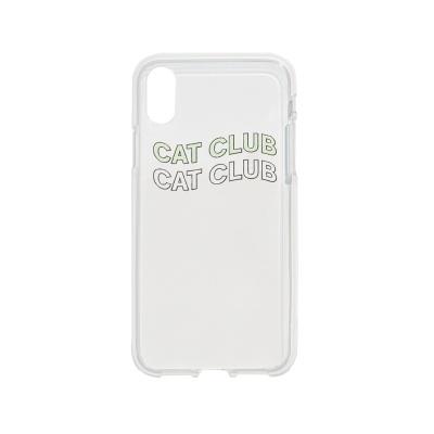 Cat Club iPhone Case Mint