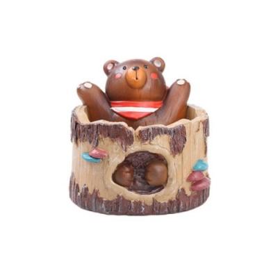 ROOGO 루고화분 곰돌이 뒷동산 나무목욕탕