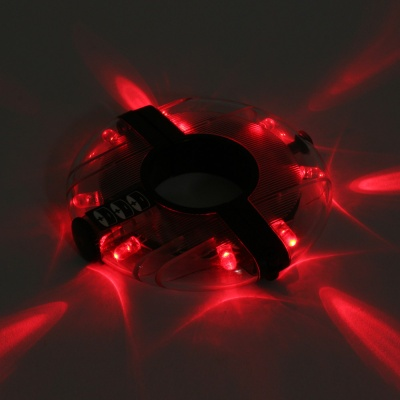 UFO LED 자전거 휠라이트(레드) 야간 바퀴안전등