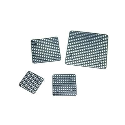 정사각 4.5cm 플라스틱 분갈이망(1장) 화분깔망