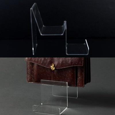 2단 아크릴 핸드백 진열대 핸드백진열대 제품진열대