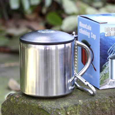 (와인앤쿡)실속형110ml 나침반 등산 컵