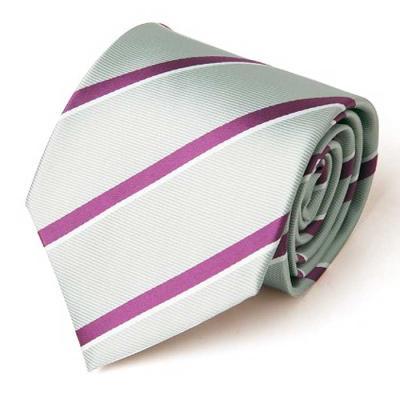 Hombre G.purple 스트라이프 수동 넥타이 CH1623699