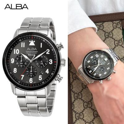 알바 크로노그래프 시계 AT3991X 남자시계 선물 커플
