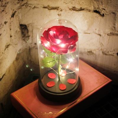 레드 쁘띠 로즈 LED 무드등
