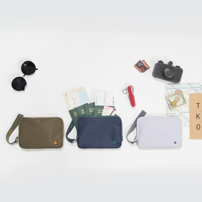 FAMILY PASSPORT POUCH DOUBLE