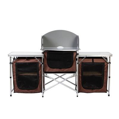 이지캠프 접이식 캠핑테이블 키친 야외테이블