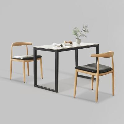 클레 세라믹 마블 식탁 세트B 1200 + 의자 2개포함 (