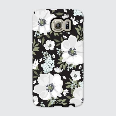 [듀얼케이스] White Flower-B (갤럭시)