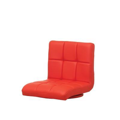 우키즈 좌식 엠보 쿠션 의자 회전형