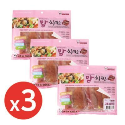 맘쿡(300g) 그릴스테이크 x3개 강아지간식