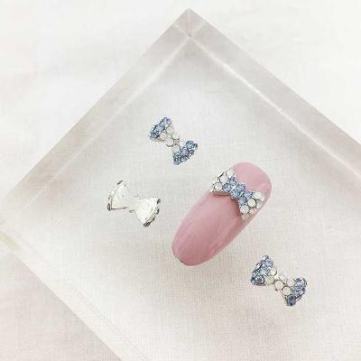 Woman bonita nail parts 아쿠아리본1개 2color