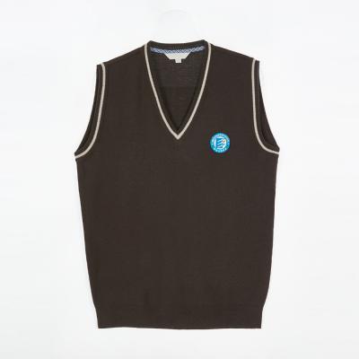 [교복아울렛] 브라운 조끼 (광주광남고) 교복