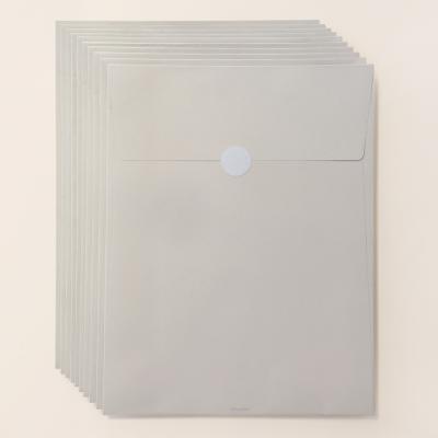 기프트 봉투 베이지브라운 A4 - 10매