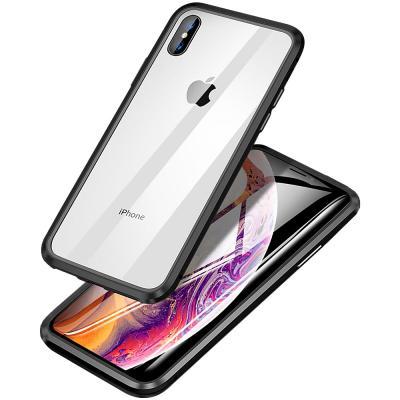 P390 아이폰11프로 마그네틱 강화글라스 메탈 케이스