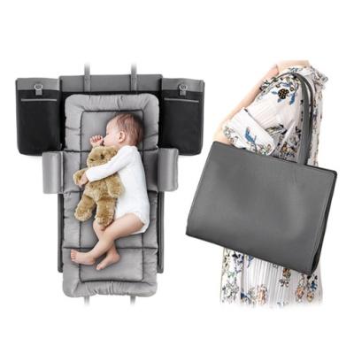 앤디랩 포트리백 기저귀가방 숄더백 휴대용 아기침대