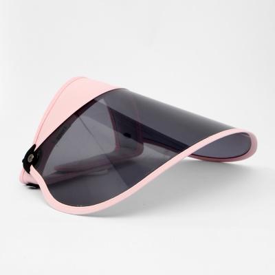 UV차단 휴대용 돌돌이 썬캡(핑크)/ 여성 여름모자