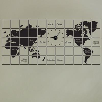 ps176-액자식세계지도_그래픽시계(중형)