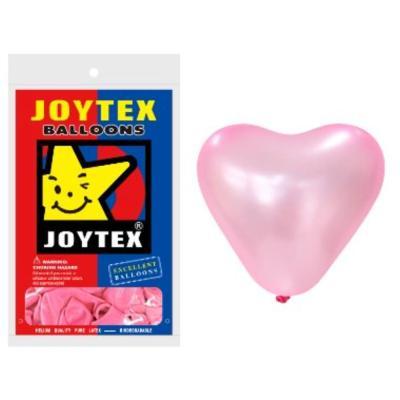 30cm 하트 펄 핑크 10개입