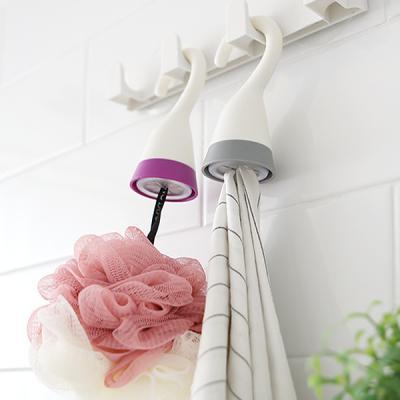 욕실 주방 행주 수건꽂이 다용도 옷걸이형 타월 행거