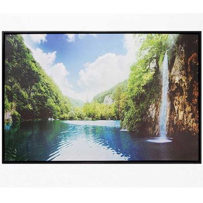 Home gallery CANVAS 포스터액자 폭포와 호수풍경