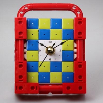 벽걸이시계3 블럭시계 (170116) 블럭레고형시계
