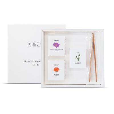 [꽃을담다]미니꽃차 3종 세트(+쇼핑백)