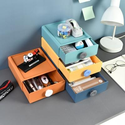 PH 적층가능 책상위 소품 화장품 수납 정리함 SL001