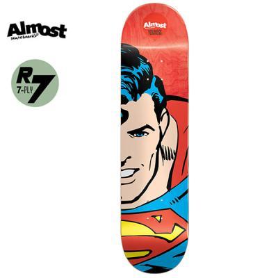 [ALMOST] YOUNESS SUPERHERO SPLITFACE R7 DECK 8.0