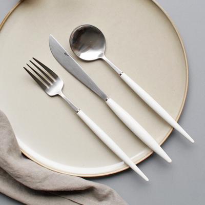 (에펠샤틴) 커트러리 스푼,포크,나이프 - 4color