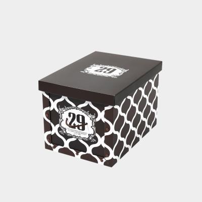 29 브라운 정리함 트렁크 (2p)