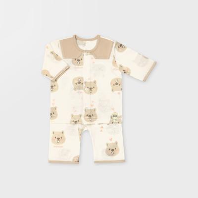 [메르베] 행복한쿼카 7부 아기내복/내의/유아실내복