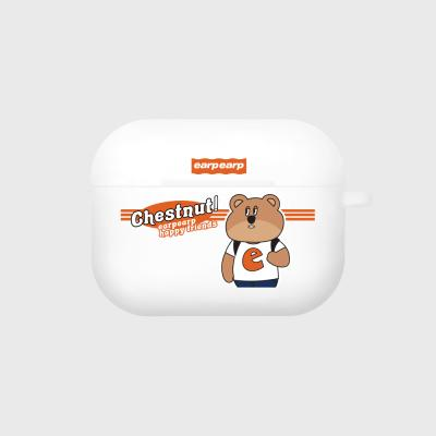 Hello chestnut-white(Air pods pro case)