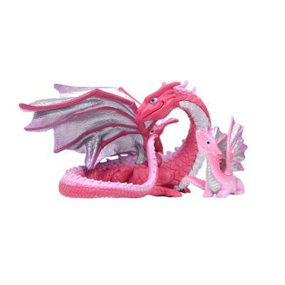 핑크 드래곤 동물피규어 2종세트(10139,10142)