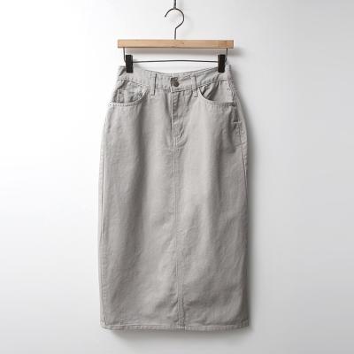 Italien Denim Long Skirt