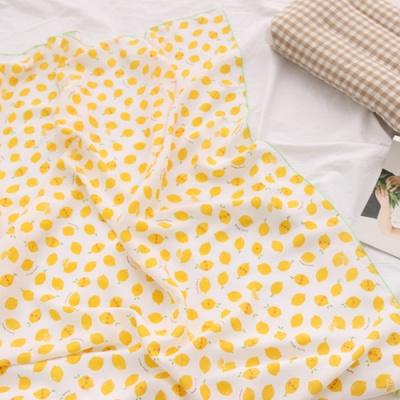 레몬 인견 아기 여름이불