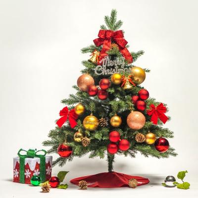 90cm 골든벨 전나무 트리 풀세트 0349-6998
