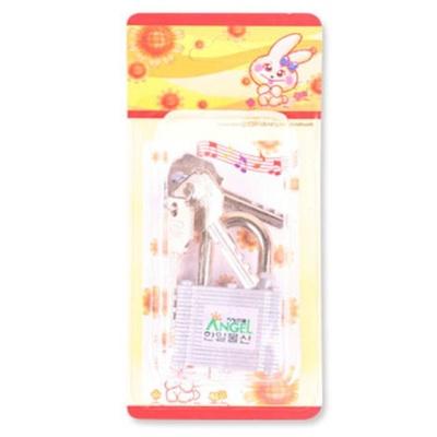 열쇠자물쇠(38A)3.8x6x1.5cm