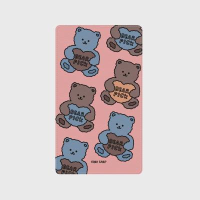 Bear pick-pink(보조배터리)