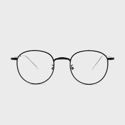 shine 블랙 동그란 안경 금속테안경 메탈안경 패션