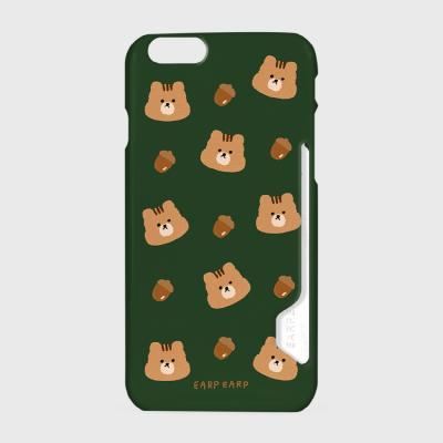 Squirrel Acorns-green(카드수납케이스)