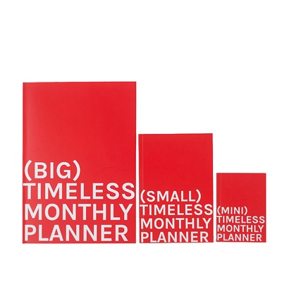 타임리스 먼슬리 플래너 3사이즈_Timeless Monthly Planner 3size