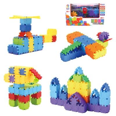 블럭팡 퍼즐블럭 학습용 교육용 창의력 두뇌발달