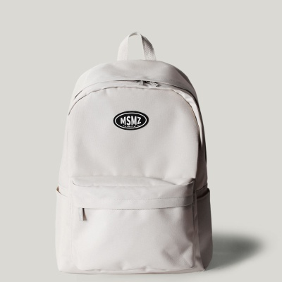 The basic bagpack _ Ivory