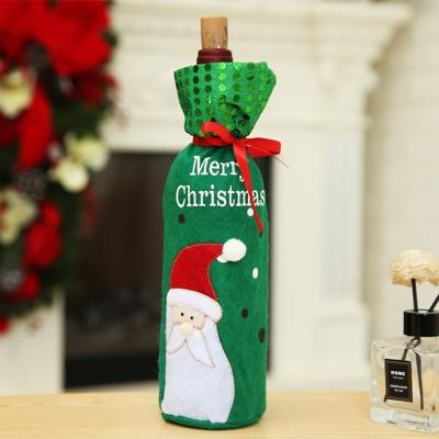 크리스마스 산타 와인커버